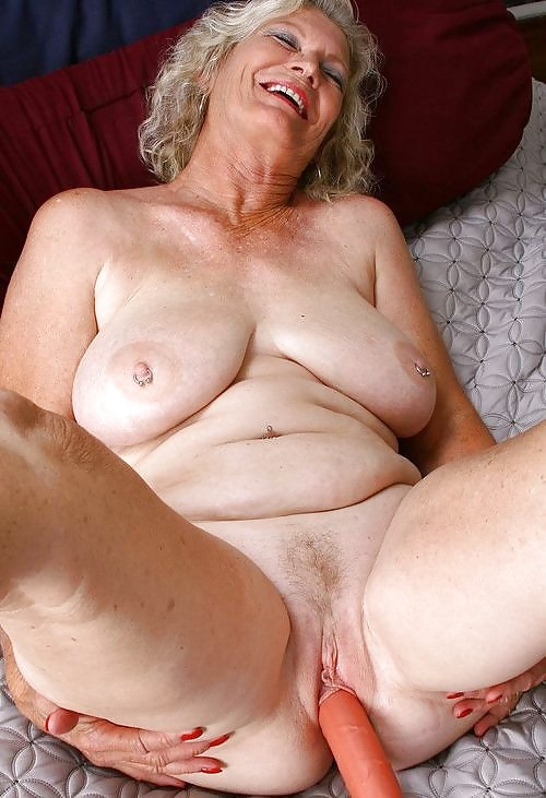 Dirty naked old women