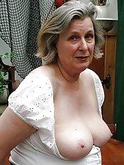 massive granny tits