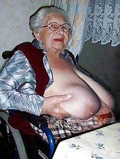 big grandma tits