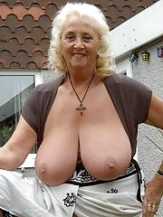 real old granny tits