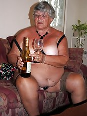 When a girl is away on holiday and sexstarved what is she to do  This grandma knew what to do  get out the wine bottle   After a few glasses of wine which made me feel even hornier so the bottle came in very useful for satisfying my urges