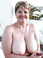 biggest granny tits