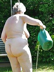 old granny tits