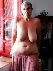 massive granny boobs