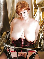 grandmother big boobs