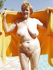 granny got big tits