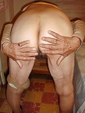 Old ass granny pussy