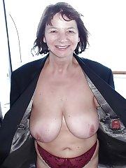 big old granny tits