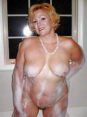 huge tits granny
