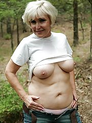 firm granny tits